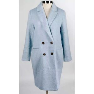 CUPCAKES & CASHMERE Effie Double Breasted Coat NWT